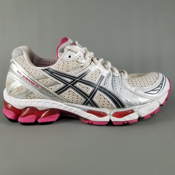 timeless design a1584 53616 asics Shoes - Asics Gel-Kayano 17 Women Athletic Shoes 7.5 White